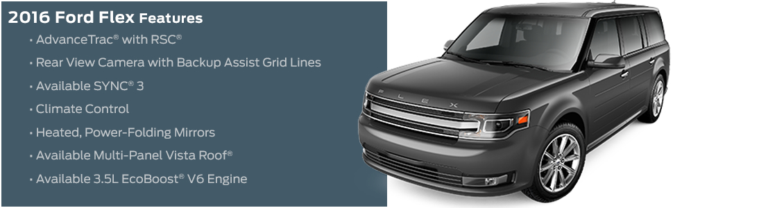 2016 Ford Flex Model Features
