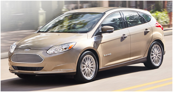 2016 Ford Focus Electric Model Interior Design