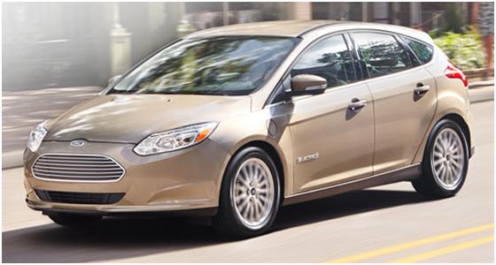 2016 Ford Focus Electric Model Interior Design