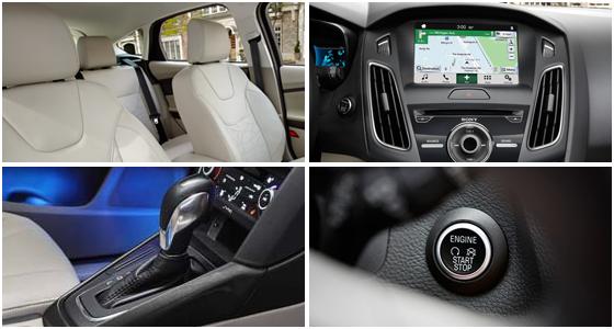 2016 Ford Focus Electric Model Exterior Design
