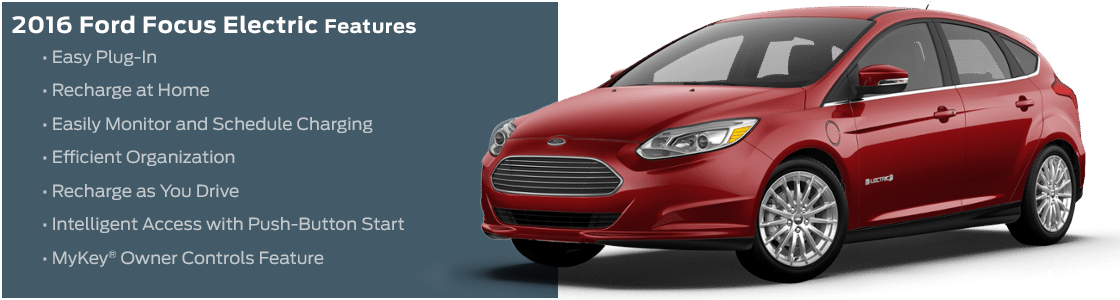 2016 Ford Focus Electric Model Features & Specifications