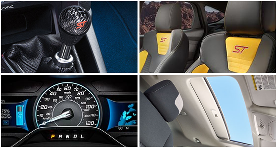 2016 Ford Focus ST Model Interior