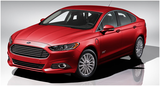 2016 Ford Fusion Energi Model Exterior