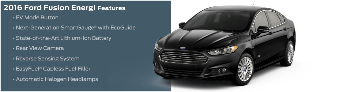 2016 Ford Fusion Energi Model Features in Tacoma, WA