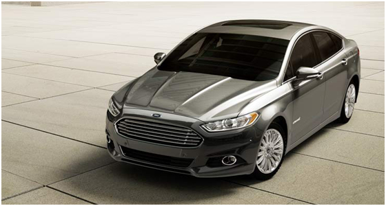 2016 Ford Fusion Hybrid Model Exterior