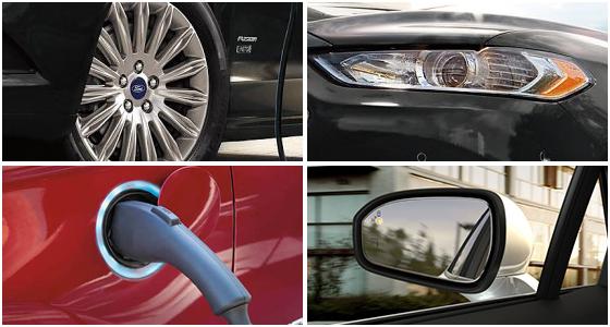 2016 Ford Fusion Hybrid Model Exterior Design