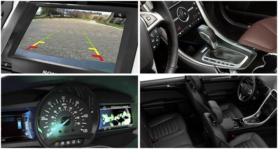 2016 Ford Fusion Hybrid Model Interior