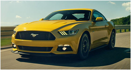 2016 Ford Mustang Model Exterior Style