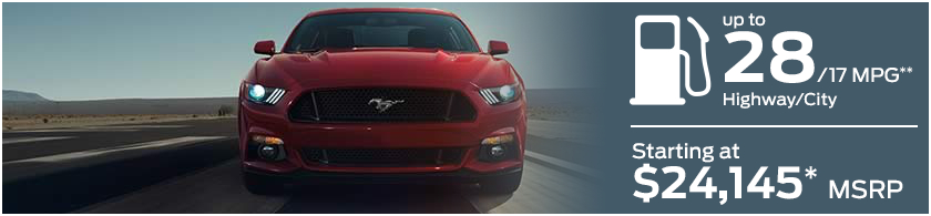 2016 Ford Mustang Model MSRP