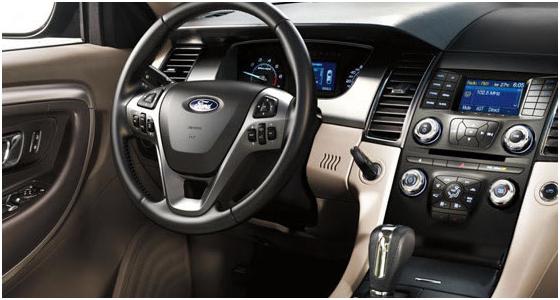 2016 Ford Taurus Model Interior Design