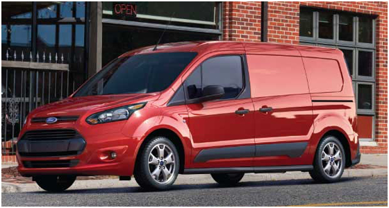 2016 Ford Transit Connect Model Exterior Style