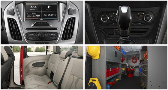 2016 Ford Transit Connect Model Interior Style