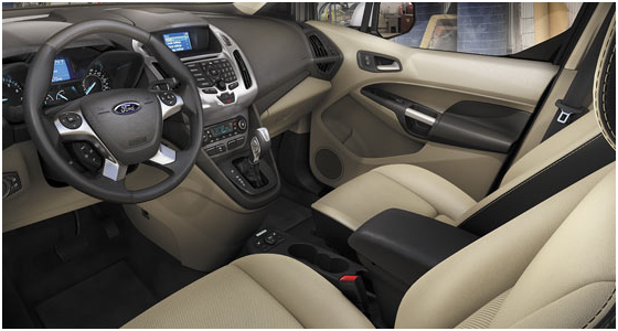 2016 Ford Transit Connect Model Interior Design