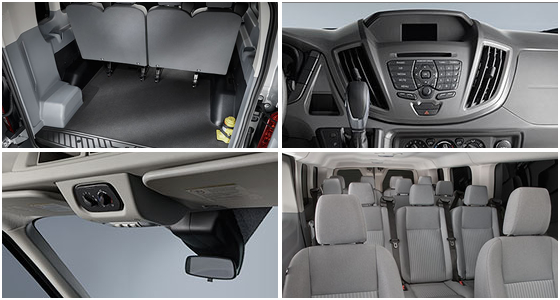 2016 Ford Transit Model Interior Design