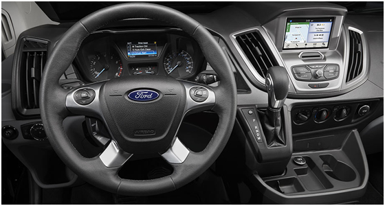 2016 Ford Transit Model Interior Features