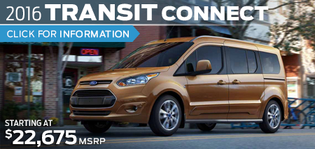 Click to Research The New 2016 Ford Transit Connect Model in Lakewood, WA