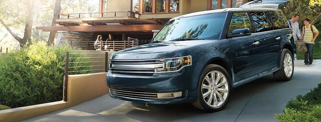 Exterior Styling of the 2016 Ford Flex