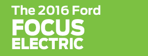 2016 Ford Focus Electric Model