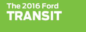 New 2016 Ford Transit Work Minivan