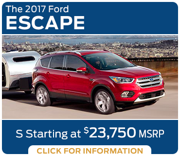 Click to research the new 2017 Ford Escape model in Tacoma, WA