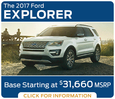 Click to research the new 2017 Ford Explorer model in Tacoma, WA