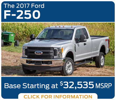 Click to research the new 2017 Ford F-250 model in Tacoma, WA
