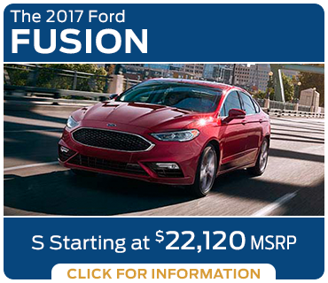 Click to research the new 2017 Ford Fusion model in Tacoma, WA