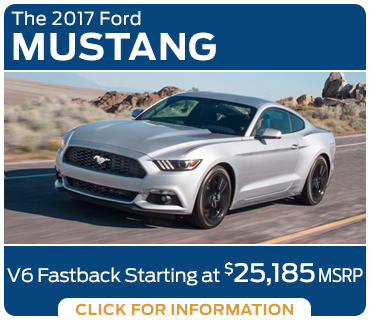 Click to research the new 2017 Ford Mustang model in Tacoma, WA