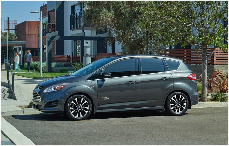 2017 Ford C-Max Energi body exterior features
