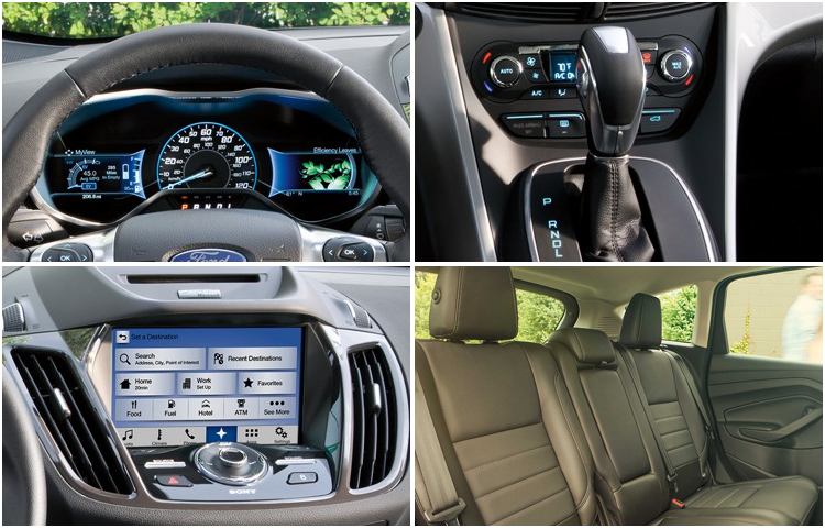 2017 Ford C-Max Energi body interior styling