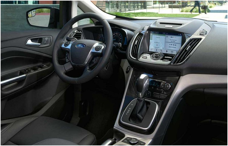 2017 Ford C-Max Energi body interior features
