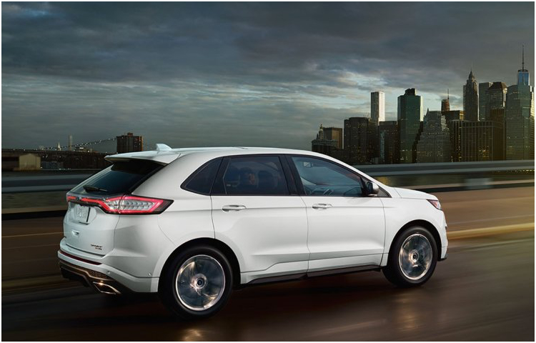 2017 Ford Edge Model Exterior Design