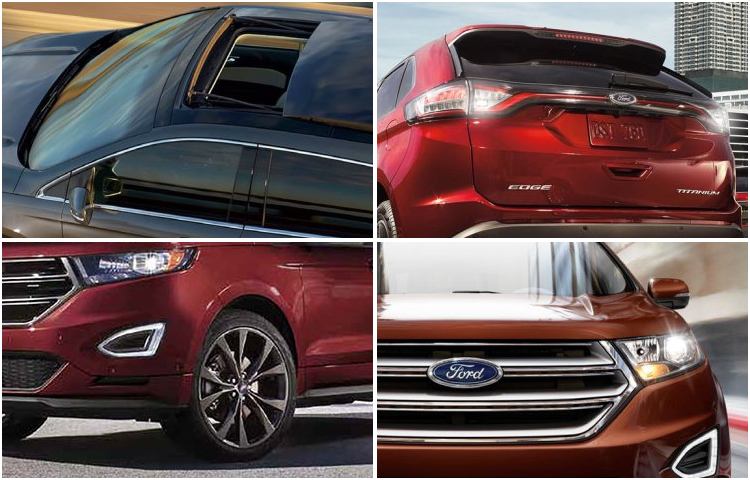 2017 Ford Edge Model Exterior Style