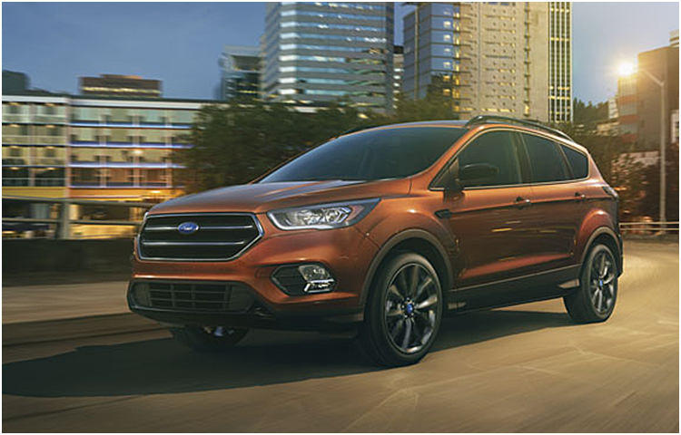 2017 Ford Escape model exterior