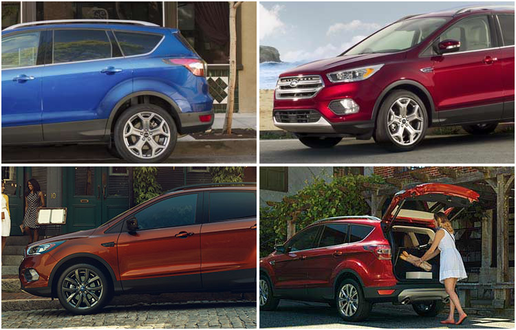 2017 Ford Escape model exterior style