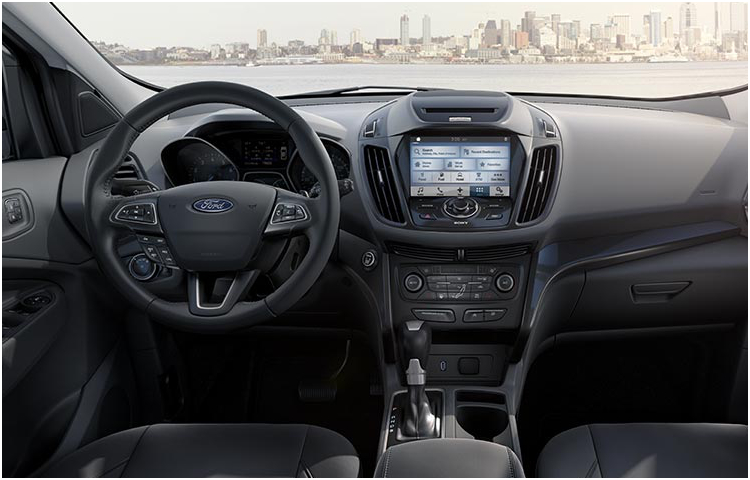 2017 Ford Escape model interior design