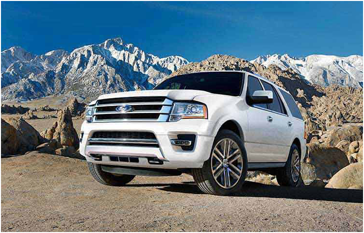 2017 Ford Expedition Model Exterior Style