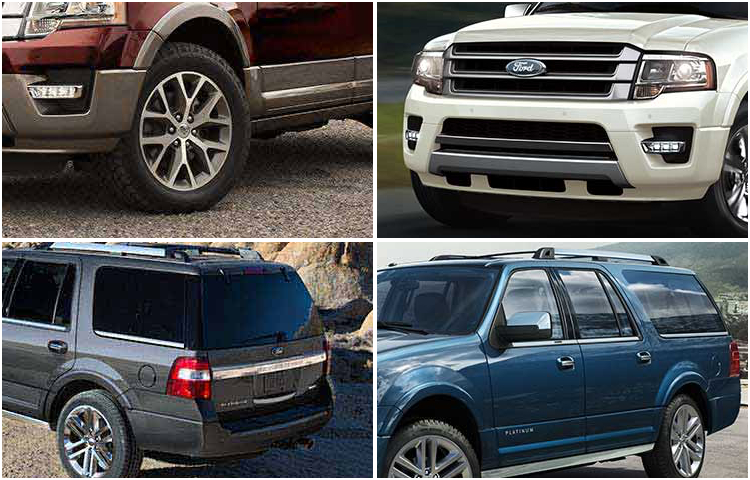 2017 Ford Expedition Model Exterior Design