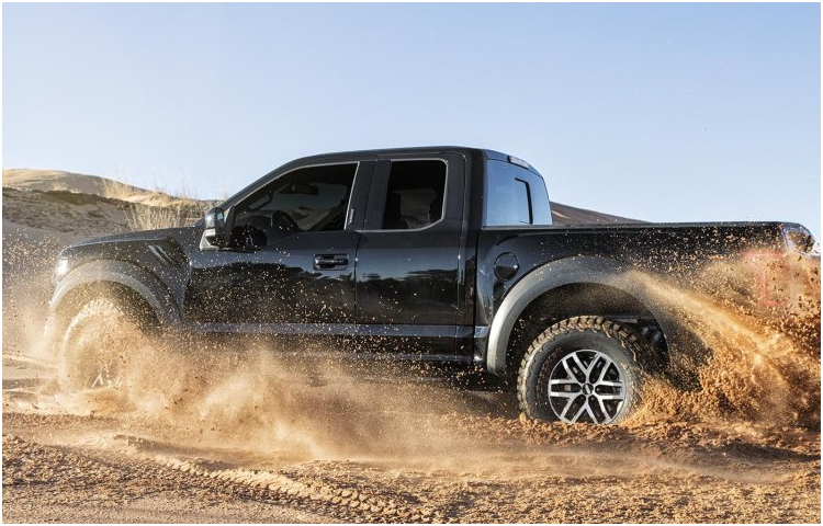 2017 Ford F-150 Raptor Model Exterior Design