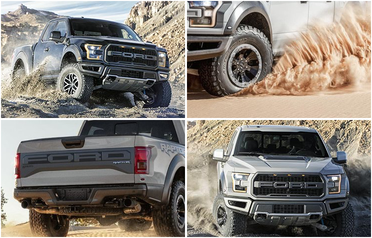 2017 Ford F-150 Raptor Model Exterior Style