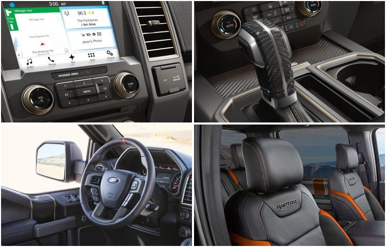 2017 Ford F-250 Model Interior Design