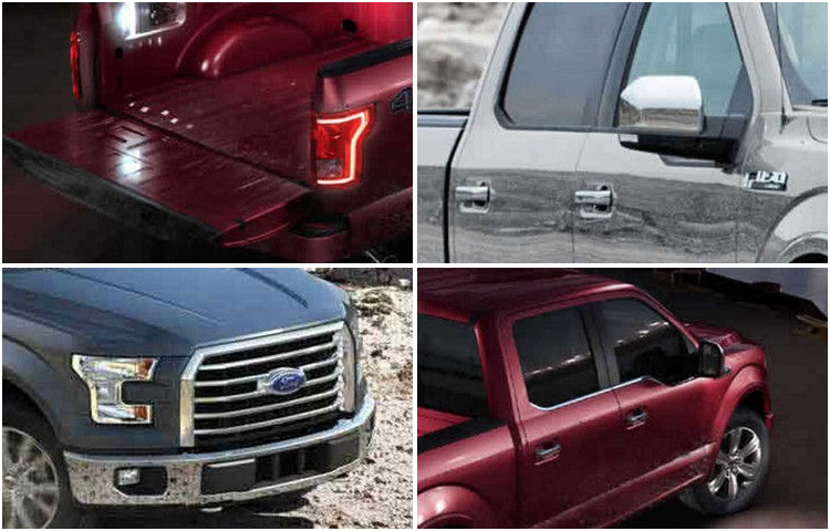 2017 Ford F-150 exterior features