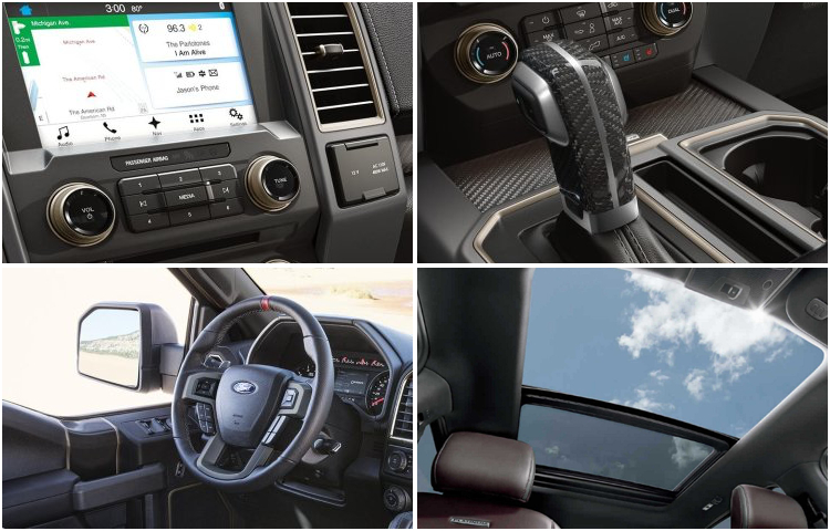 2017 Ford F-150 interior features