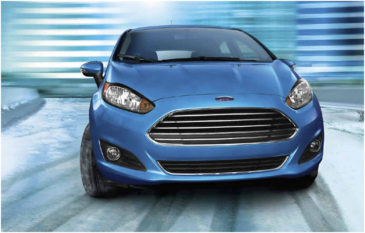 2017 Ford Fiesta Exterior Styling