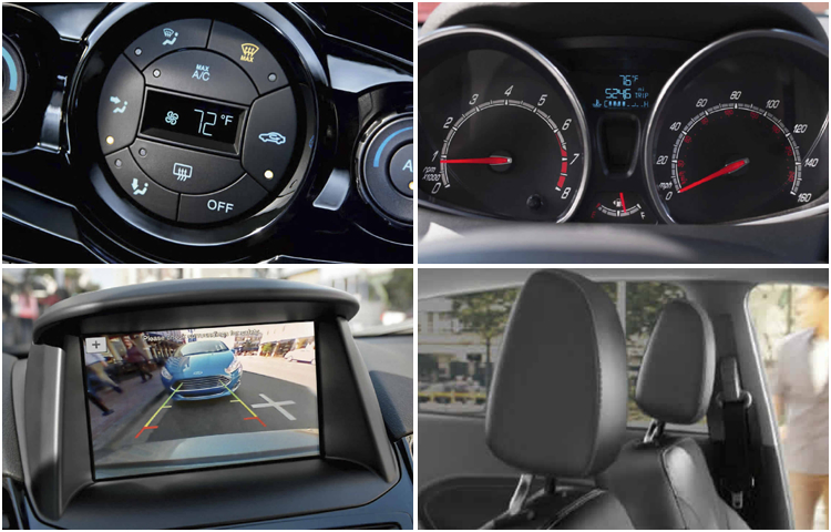 2017 Ford Fiesta Interior Styling