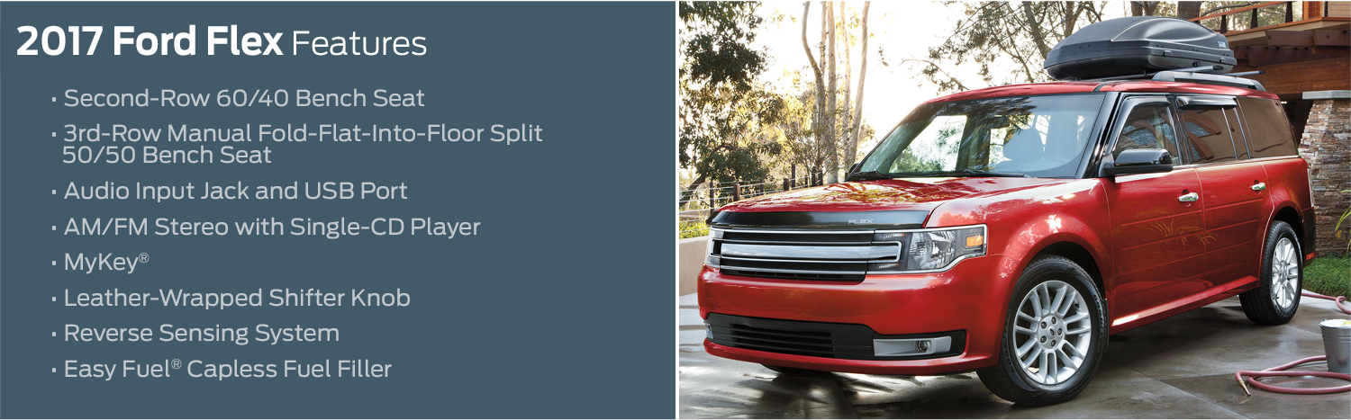 2017 Ford Flex Feature Information