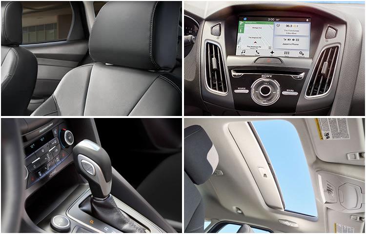 2017 Ford Focus Model Interior Design
