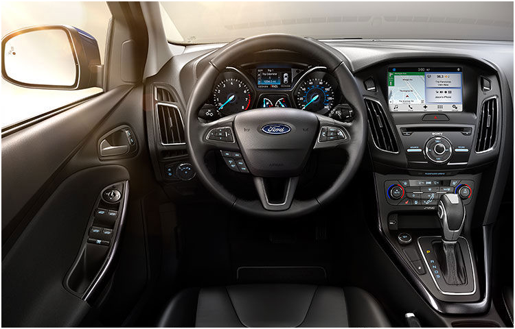 2017 Ford Focus Model Interior Style
