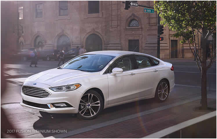 2017 Ford Fusion Hybrid Exterior Styling
