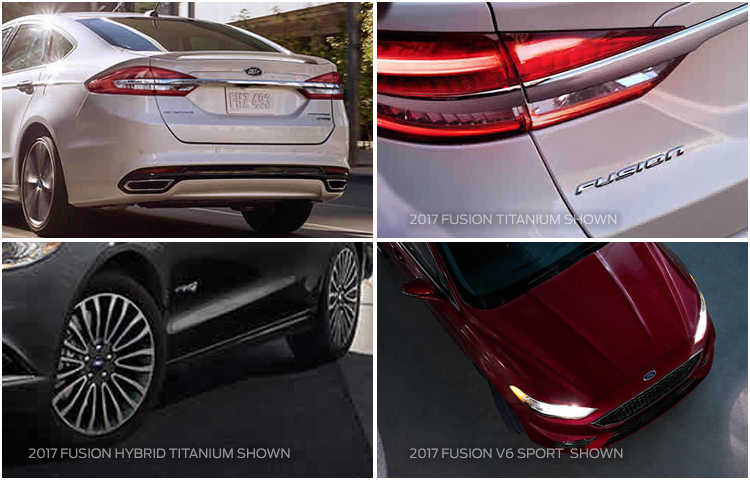 2017 Fusion Hybrid Exterior Styling